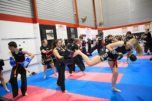 Female Kickboxing